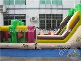Curso de obstáculo inflable de la mejor venta para los niños