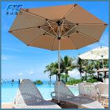 ビーチパラソル防水ブースの傘の日曜日の折る避難所