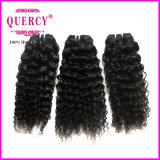 Extensions brésiliennes de cheveu de beauté de produits capillaires d'enroulement crépu chaud d'Afro