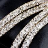2017方法宝石類18Kの金は花嫁の結婚式の女性宝石類セットをめっきした