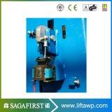 Der Qualitäts-3.5t 4t 4.5t Pfosten-Auto-Aufzug-Cer der Bodenplatte-zwei genehmigt