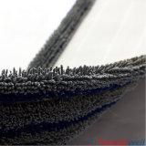 Microfiber durable gris frottant la lavette à plat humide
