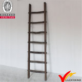 Escada decorativa de madeira decorativa de madeira rústica