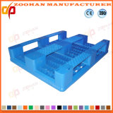 Pálete plástica da bandeja da grade resistente industrial do armazém (ZHp24)
