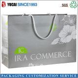 Laminación brillante personalizadas bolsas de papel comercial