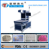 Le CO2 Galvo chiffon Laser Marking machine