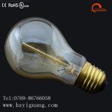 Bulbo energy-saving do filamento do diodo emissor de luz do vidro do ouro