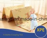 這うマット/多色刷りの層マットの成長のカーペット/Babyの子供の演劇のおもちゃの体操のはうマット/ChildrenのためのXPEの泡のマットの床