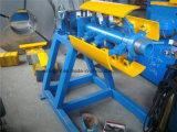 Manual de 3 toneladas Uncoiler simples para bobinas de aço Decoiler Metal