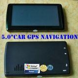"""2016 Nuevo 5.0"""" portátil coche de dispositivos GPS de navegación Soporte Nueva Navitel Mapa y Nueva Igo Mapa"""