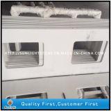 Pietra bianca pura artificiale del quarzo per la parte superiore di &Vanity del controsoffitto della cucina
