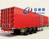 Hochleistungs2-3 Typ Kasten-Ladung-Transport-halb Schlussteil der Wellen-35-60t Van mit Kohlenstoffstahl