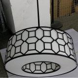 De antieke Lamp van de Tegenhanger van het Metaal Balck van het Hotel Decoratieve Binnen