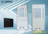 panneau solaire de la qualité 18W, contrôleur, réverbère de la batterie DEL