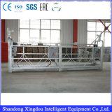 630kgs plate-forme suspendue galvanisé, de suspendre la plate-forme de travail électrique, l'étape de rotation
