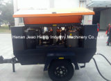 Тепловозный передвижной компрессор воздуха винта Hg330L-8 для дороги/минирование