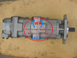 Pompa a ingranaggi del caricatore Wa600-6 di KOMATSU del ~OEM di fabbricazione Ass'y 705-55-43040 pezzi di ricambio automatici