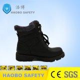 Сталь из натуральной кожи для изготовителей оборудования с поддержкой TOE Установите противоскользящие теплый обувь на зиму