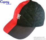 Brown Dad Hat com logotipo de Metal
