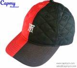 Коричневый Папа Red Hat с металлическими логотип
