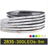 RGB 2835 60LEDs Strips gelijkstroom 12V IP65 Waterproof Flexible Tape White Warm White Red Green Blue Yellow