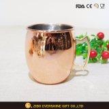 ステンレス鋼のベストセラーの銅によってめっきされるコーヒー・マグのコップ