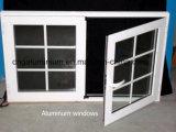 Finestra di scivolamento di vetro di alluminio con la rete di zanzara