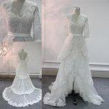 Самый новый шнурок выравнивая Bridal мантию платья венчания сделанную в Китае Bz147-7