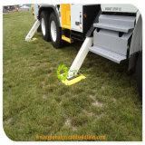 変化カラー頑丈なプラスチックバージンUHMWのトラックの上昇クレーンサポート足のパッド