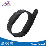Bracelet tissé par polyester d'IDENTIFICATION RF pour même /Party Em4100