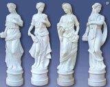 Signora grassa Art Sculpture delle statue orientali del giardino