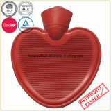 Garrafa de água quente da forma do coração