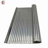 Aluminium die de Dekking van de Blaasbalg van het Gordijn met RubberStroken voor de Leibaan van de Machine beschermen