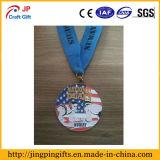 Médaille en alliage de zinc faite sur commande de sports de vente chaude