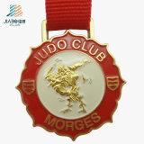 L'abitudine superiore del Sandy dell'oro di maratona del pezzo fuso della lega di vendita mette in mostra la medaglia