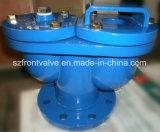 Arrabio/válvula de aire dúctil de la esfera del doble del hierro