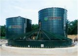 Ecpc depósito montado del depósito de Biogás digestor