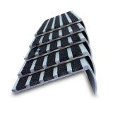 카보런덤 지구 매트에 의하여 양극 처리되는 알루미늄 층계 Nosings