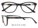 Mais recente Design Acetato Quadro Óptico Full-Rim Frames Novo Modelo Eyewear Frame Glasses