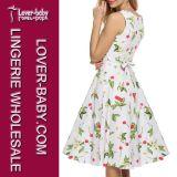 Beiläufige Art-Frauen-Form-Kleid-Kleidung (L36086-1)