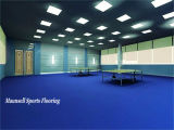 表のテニスコートに使用するIttfの標準と床を張るPVC屋内スポーツ