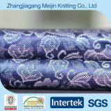 Stof van de Lingerie van de Jacquard van de Polyester van de afwijking de Breiende Nylon (MJ5009)