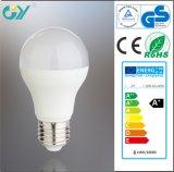 Ampola econômica do diodo emissor de luz da lâmpada E27 3000k 10W A55