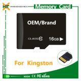 Carte de mémoire en gros d'écart-type de micro 2GB 4GB 8GB 16GB 32GB 64GB 128GB