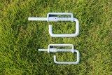 판매를 위한 밝은 아연 코팅 농장 문 팩 꽝 닫기 래치