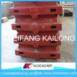 Linha de molde caixa da caixa da areia da alta segurança de molde usada para a fundição