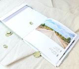 Livre de table basse d'impression de livre de livre À couverture dure de qualité
