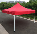 3x3m rouge pop up d'acier de plein air tente Gazebo de pliage