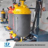 Espuma rígida de poliuretano que hace la máquina