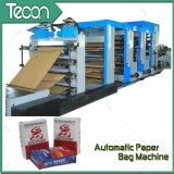 Completa tubos de papel automático que hace la máquina